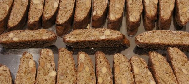Quaresimali Honey Almond Biscotti