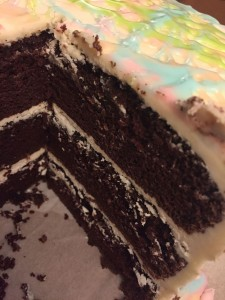 Three layer cake B 019